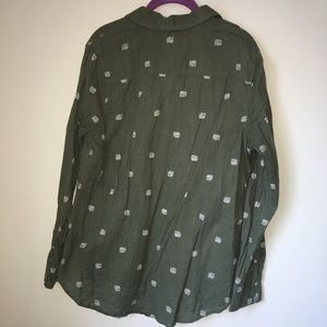 Merona Tops - Elephant Button Up